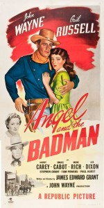 John Wayne Gail Russell Angel and the Badman Movie